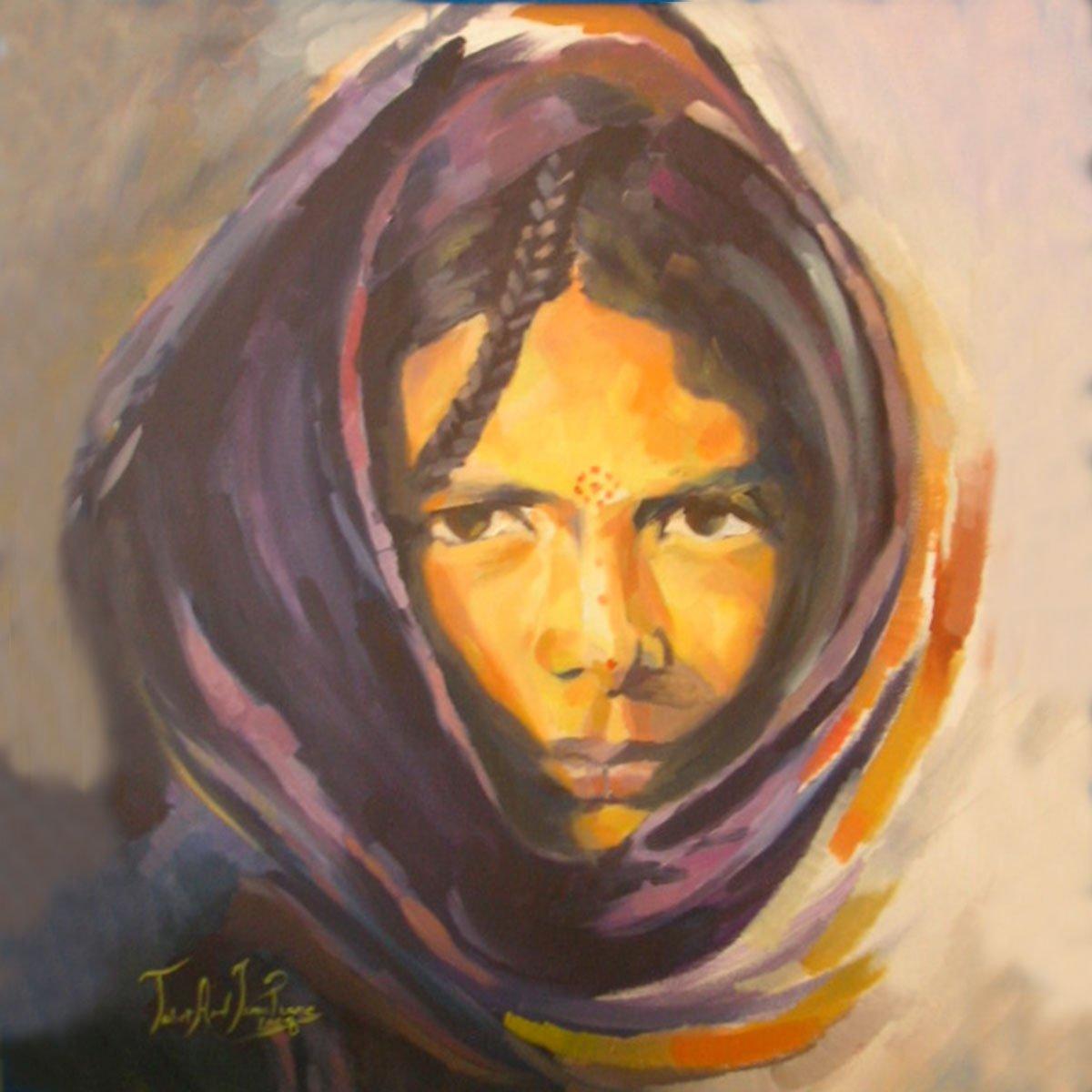 tableau femme berbère algerie ismahane tabet aoul portrait fashion photographer