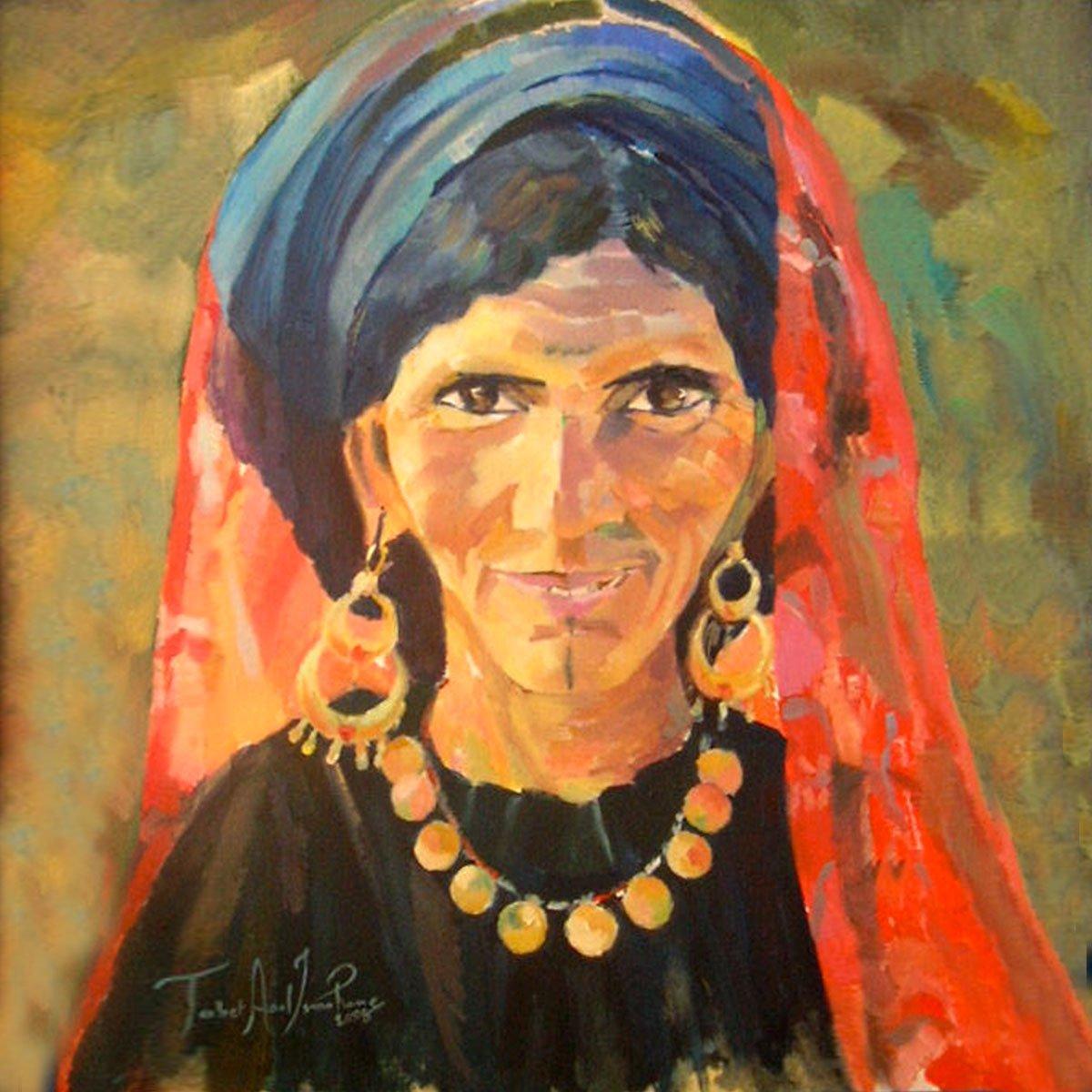 tableau femme berbère tatoo algérie ismahane tabet aoul portrait fashion photographer