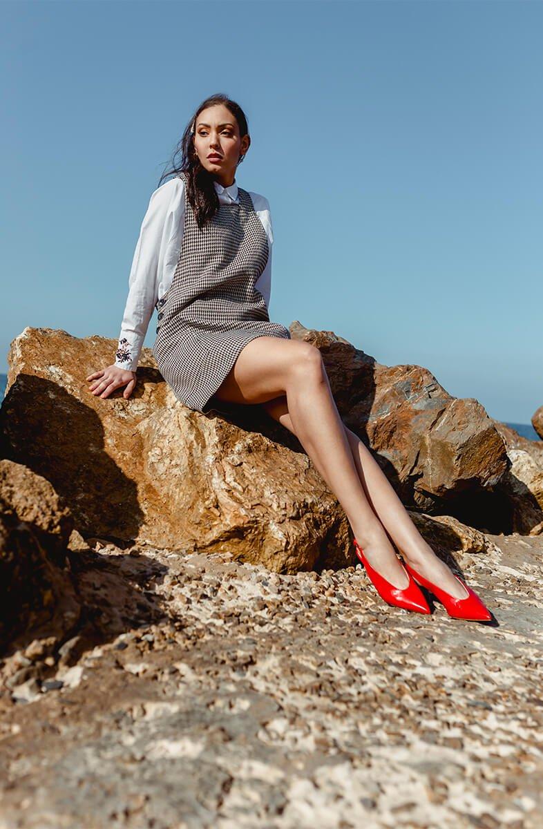 soumia tallon rouge rocher